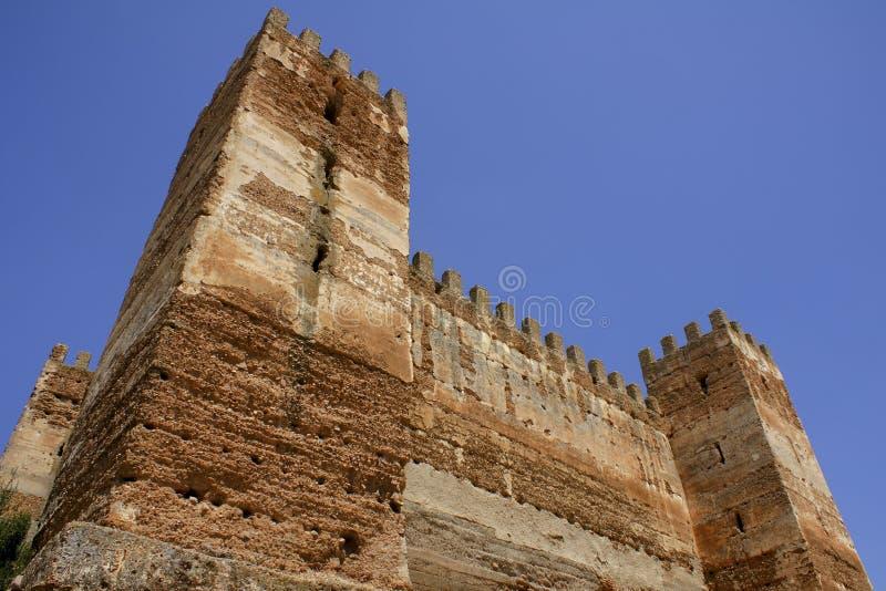 The castle of Spain stock photos