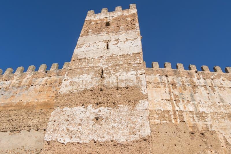 Burgalimar-Schloss, Bedecken-Al-Hamma, Baños De-La Encina-Dorf, J stockfoto