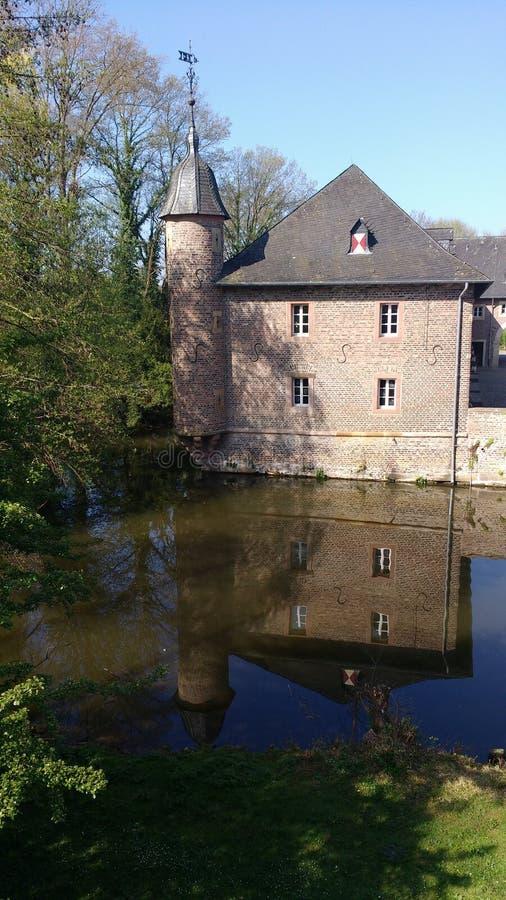 Burgaukasteel, DÃ ¼ ren, Duitsland royalty-vrije stock fotografie