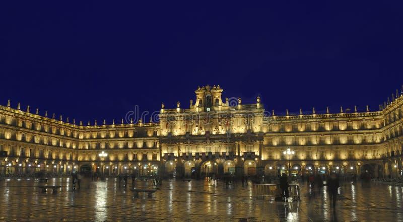 Burgemeester van het plein, Salamanca, Spanje stock fotografie