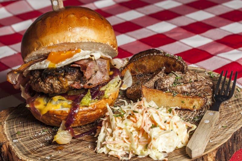 Burger à la Marc&Ben stock photography