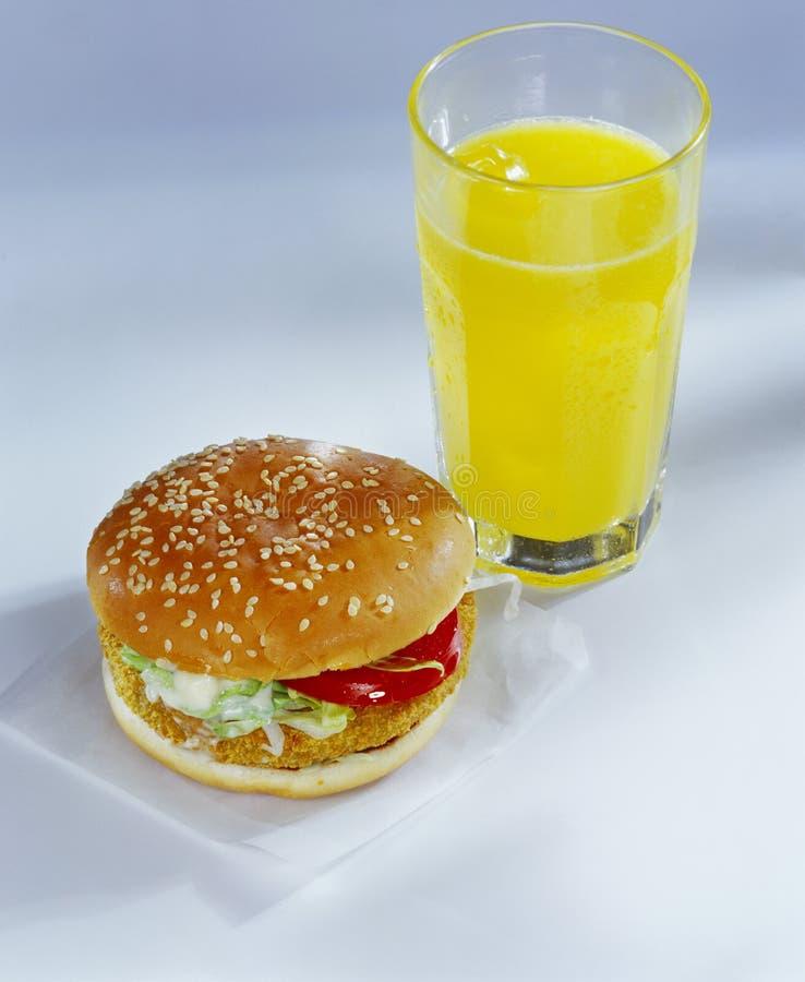 burger λαχανικό στοκ φωτογραφίες
