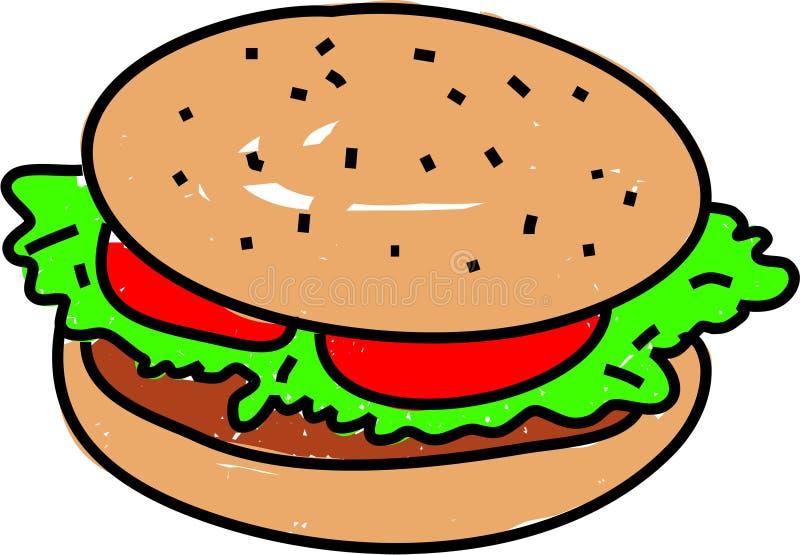 Burger stock abbildung