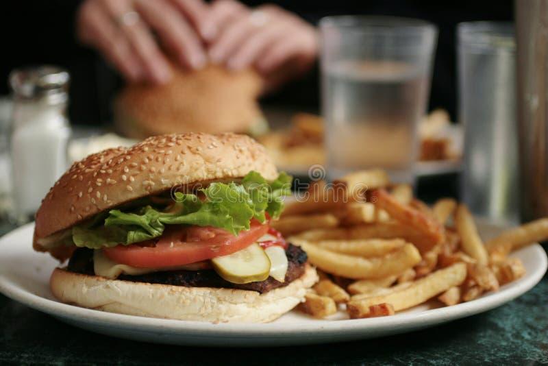 Burger lizenzfreie stockfotografie