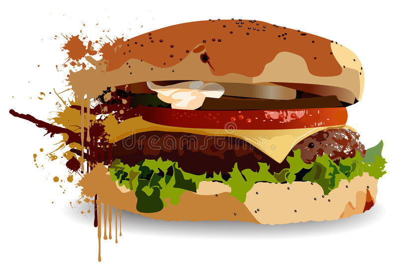 Download Burger Stock Photography - Image: 3889622