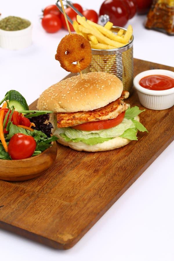 Burger lizenzfreies stockfoto