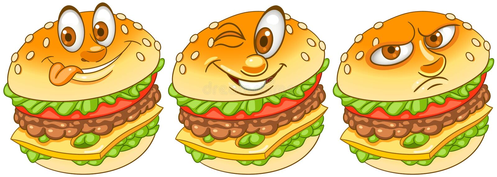 Burger. Hamburger. Cheeseburger. Fast Food concept royalty free stock image