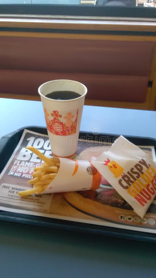 Burger King arkivbilder
