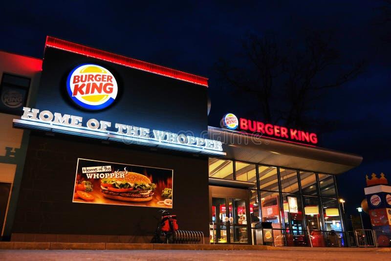Burger King images stock