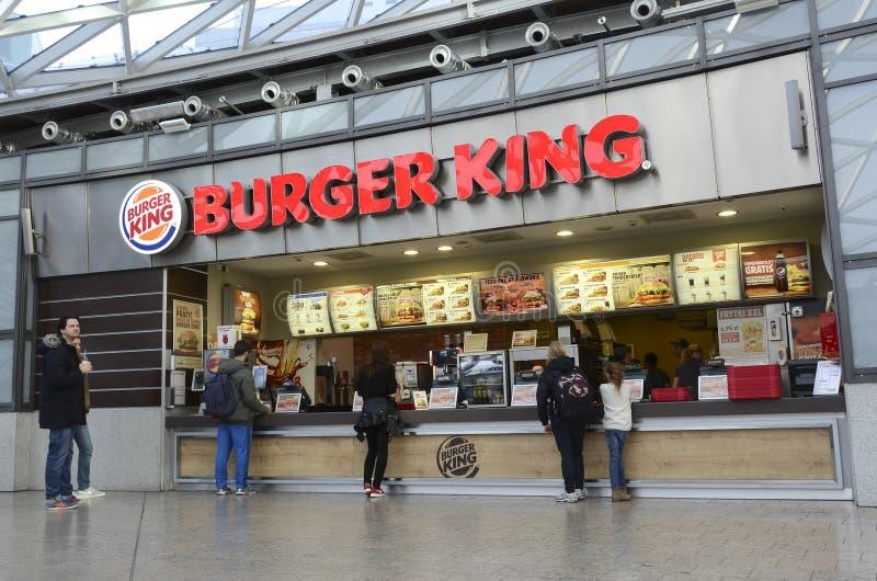 Burger King photo libre de droits