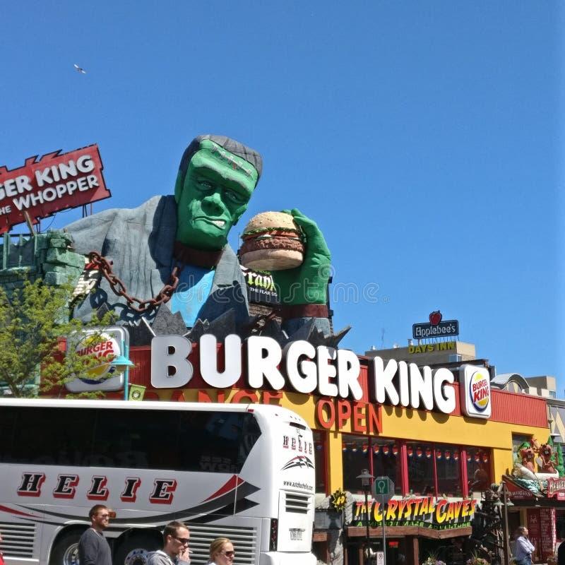 Burger King στοκ φωτογραφία