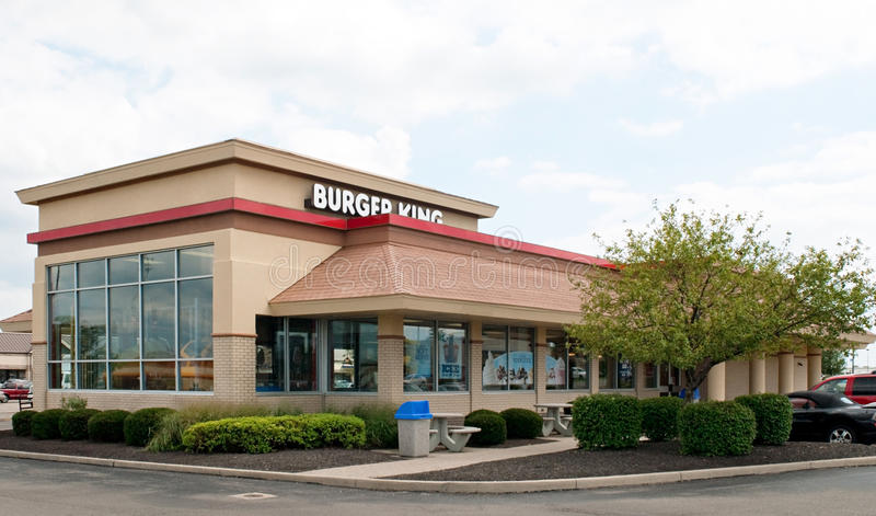 Burger King restaurang arkivbilder