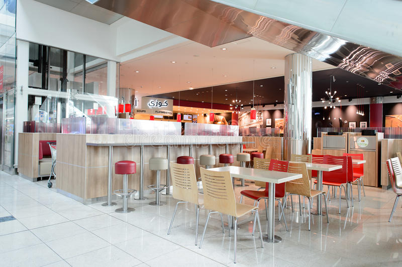 Burger king restaurant interior editorial photo image of