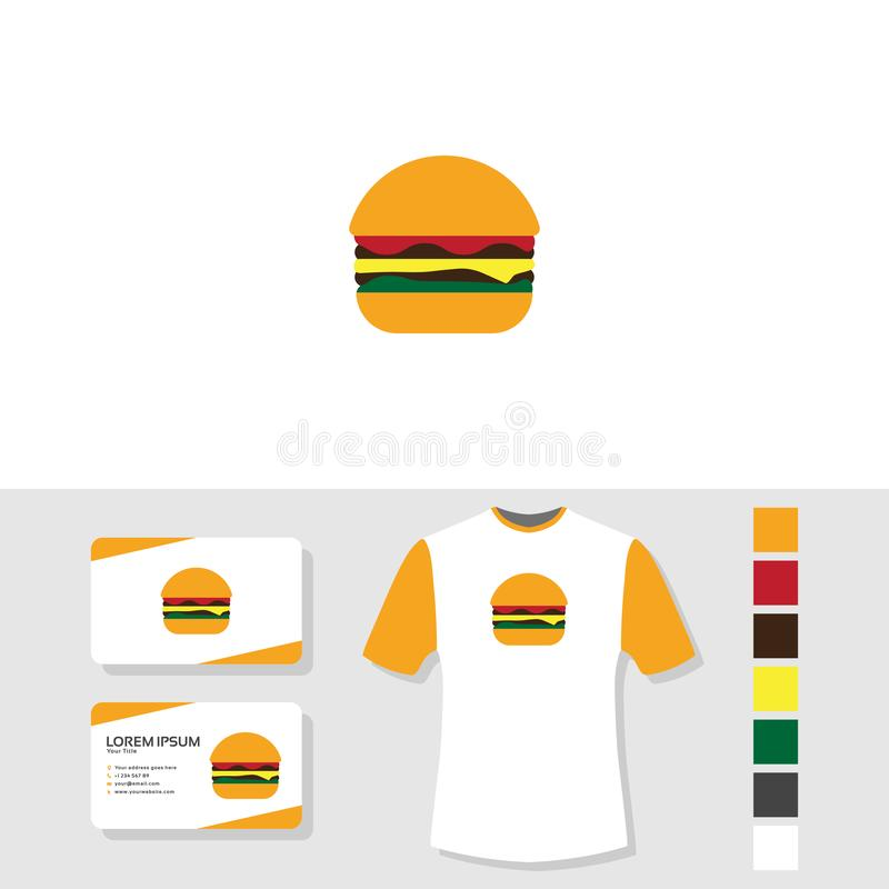 my new burger business stock illustration  illustration of