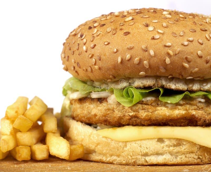 Burger series stock photos