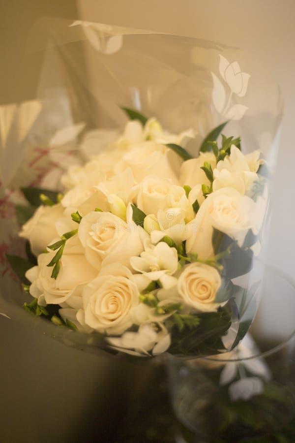 Burgerlijk huwelijks bruids boeket royalty-vrije stock afbeelding