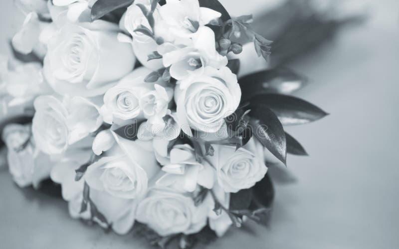 Burgerlijk huwelijks bruids boeket stock afbeeldingen