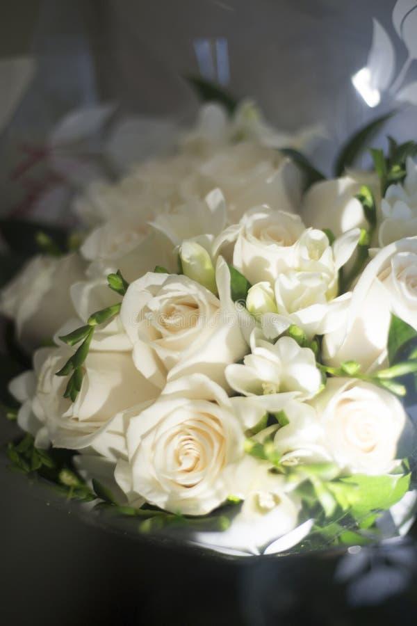 Burgerlijk huwelijks bruids boeket royalty-vrije stock fotografie
