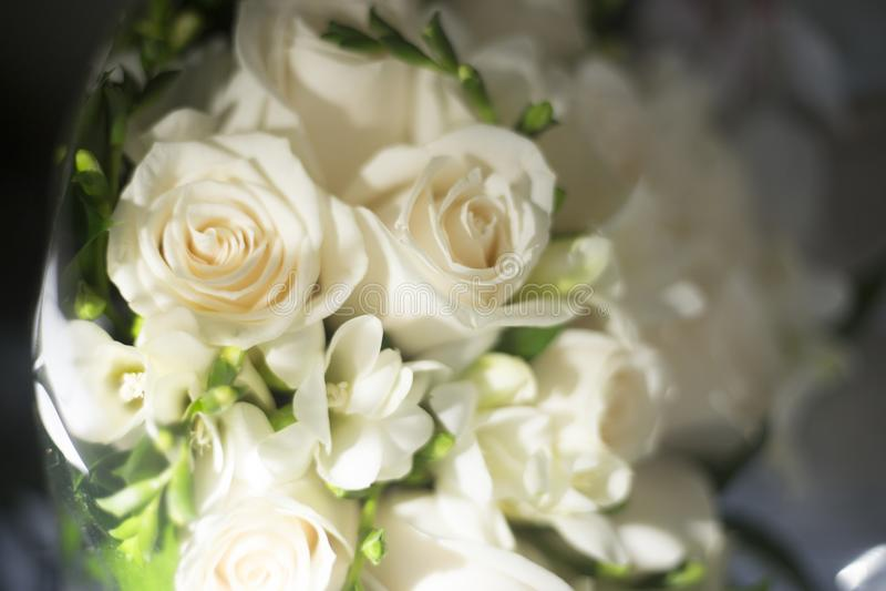 Burgerlijk huwelijks bruids boeket royalty-vrije stock foto's