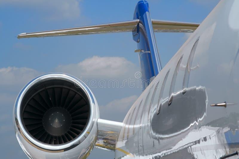 Burgerlijk vliegtuig royalty-vrije stock afbeeldingen