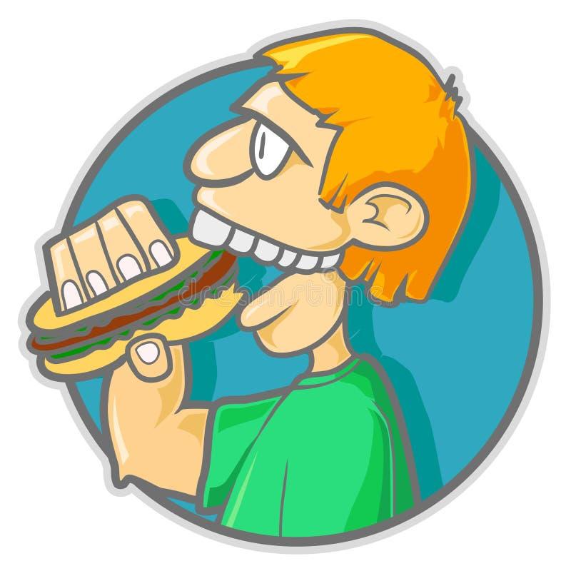 burgerman royalty ilustracja