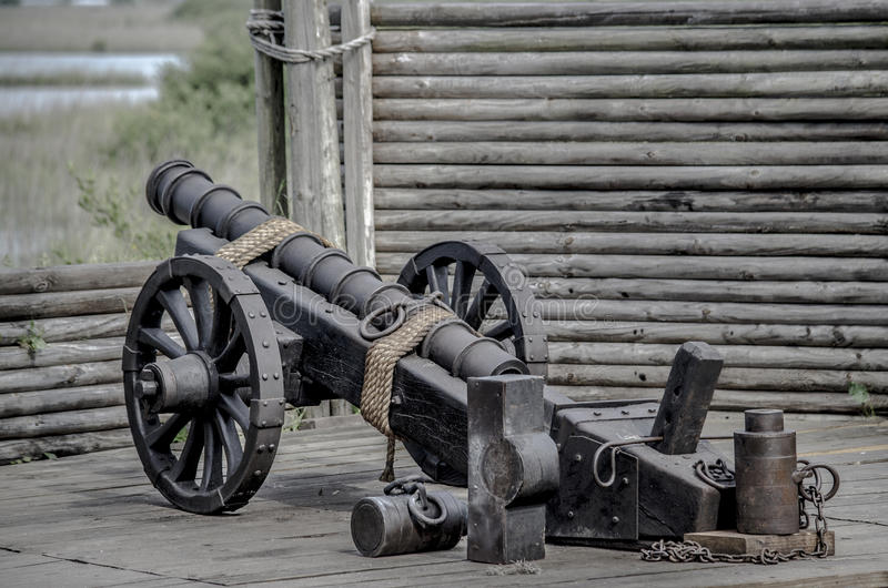 Burgeroorlog Canon royalty-vrije stock foto's