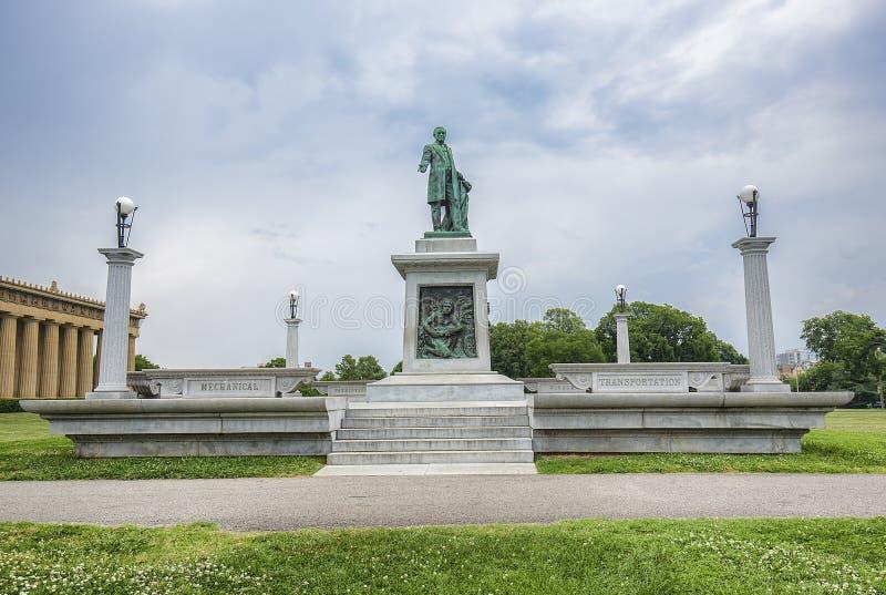 Burgeroorlog Verbonden Monument stock foto's