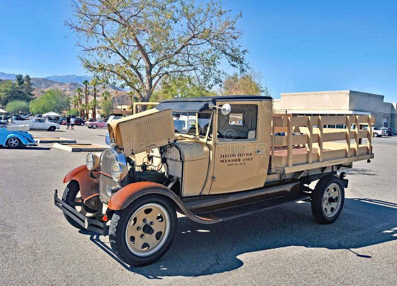 Burgess Electrical Company Truck foto de stock