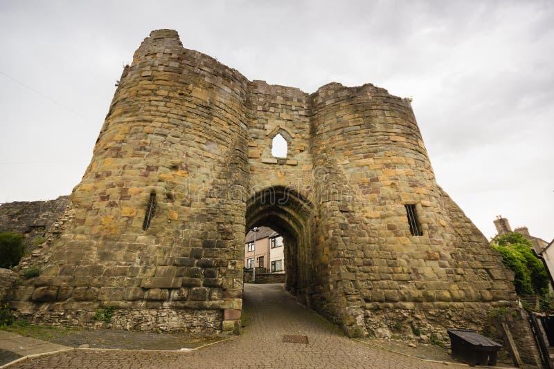 Burgess Gate House Denbigh Castle Gales norte fotos de stock royalty free