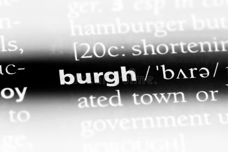 burgh стоковые изображения