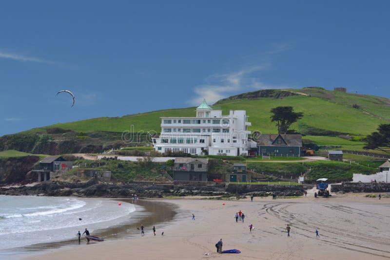 Burgh-Insel-Hotel ein einzigartiger Platz zu bleiben lizenzfreie stockfotos