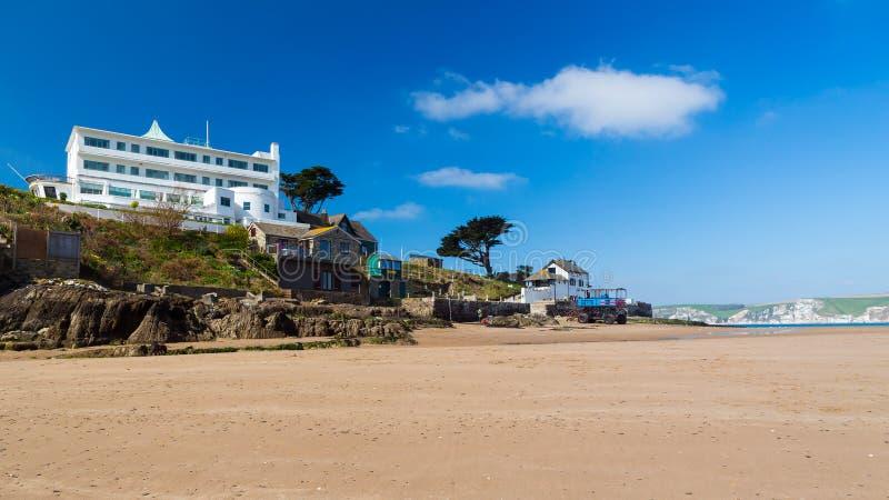 Burgh-Insel Süd-Devon England lizenzfreie stockfotos