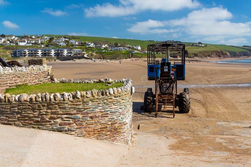 Burgh-Insel Süd-Devon England stockfoto