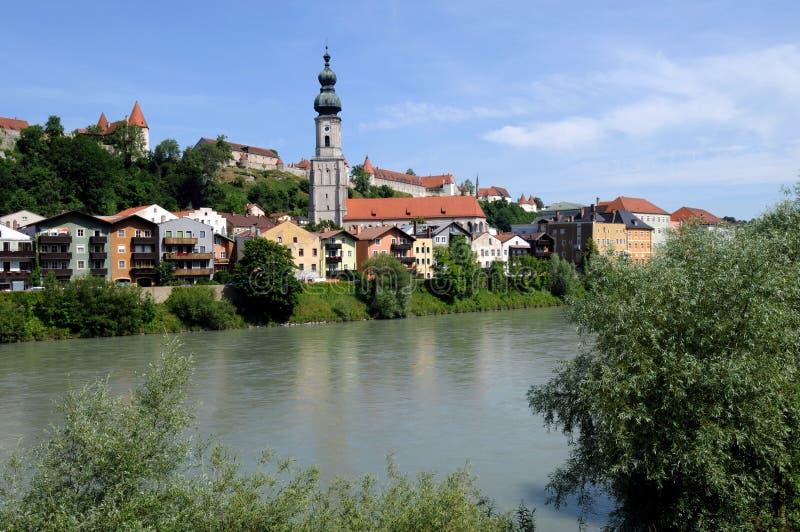 Burghausen immagine stock libera da diritti