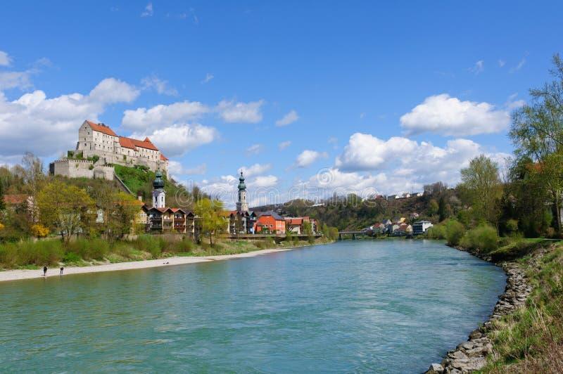 Burghausen, Germania immagine stock