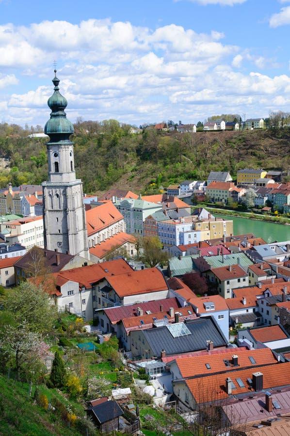Burghausen, Germania fotografie stock libere da diritti