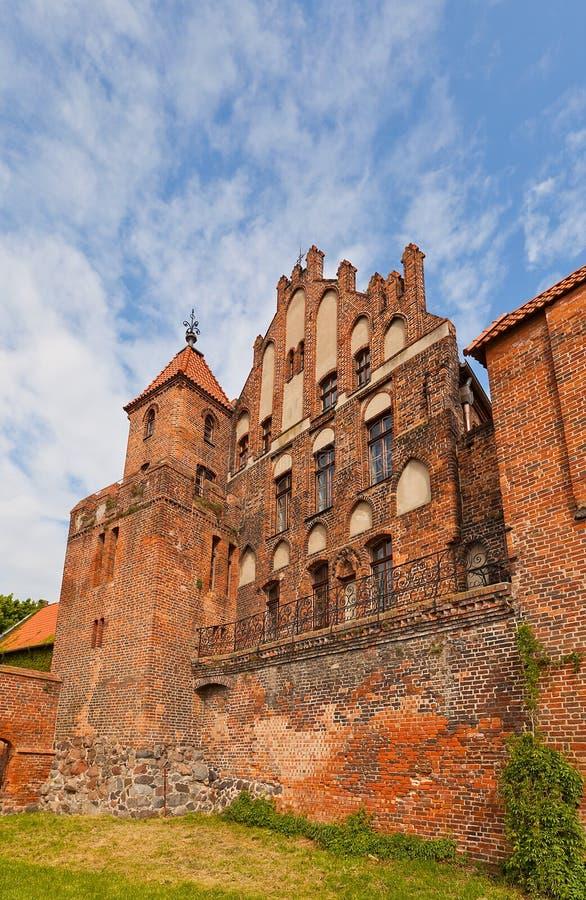 Burghers Salão (1489) em Torun, Polônia imagens de stock