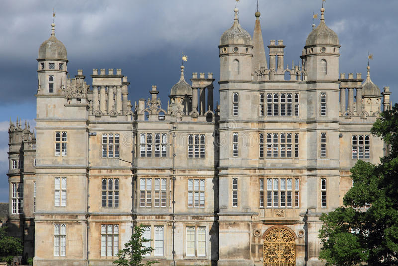 Burghleyhuis van Stamford royalty-vrije stock foto's