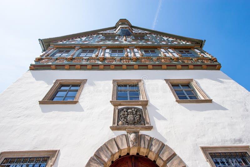 Burgkunstadt Franconia superior/Alemania fotografía de archivo