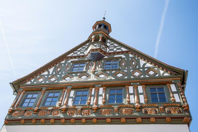 Burgkunstadt Franconia superior/Alemania imagenes de archivo