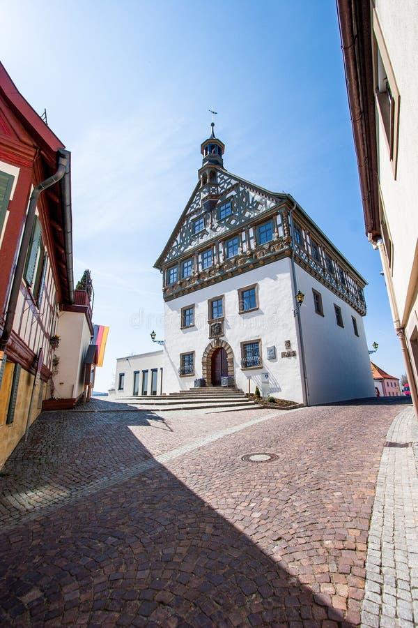 Burgkunstadt Franconia superior/Alemania fotografía de archivo libre de regalías