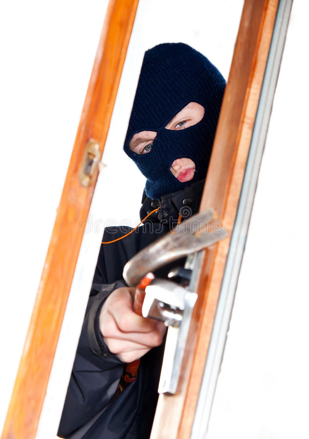 Download Burglar stock photo. Image of forbidden, damage, bandit - 19631176
