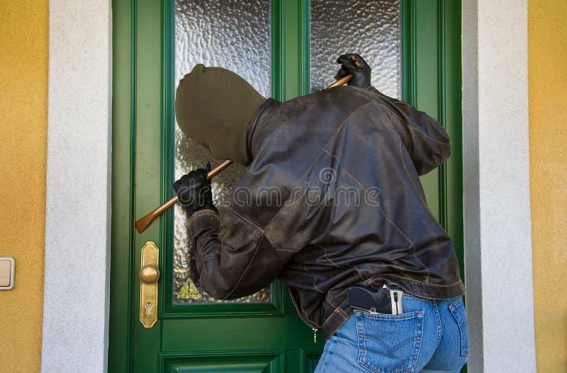 Burglar stock photography
