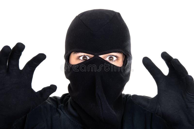 Download Burglar attack stock photo. Image of horrifying, criminal - 24682340