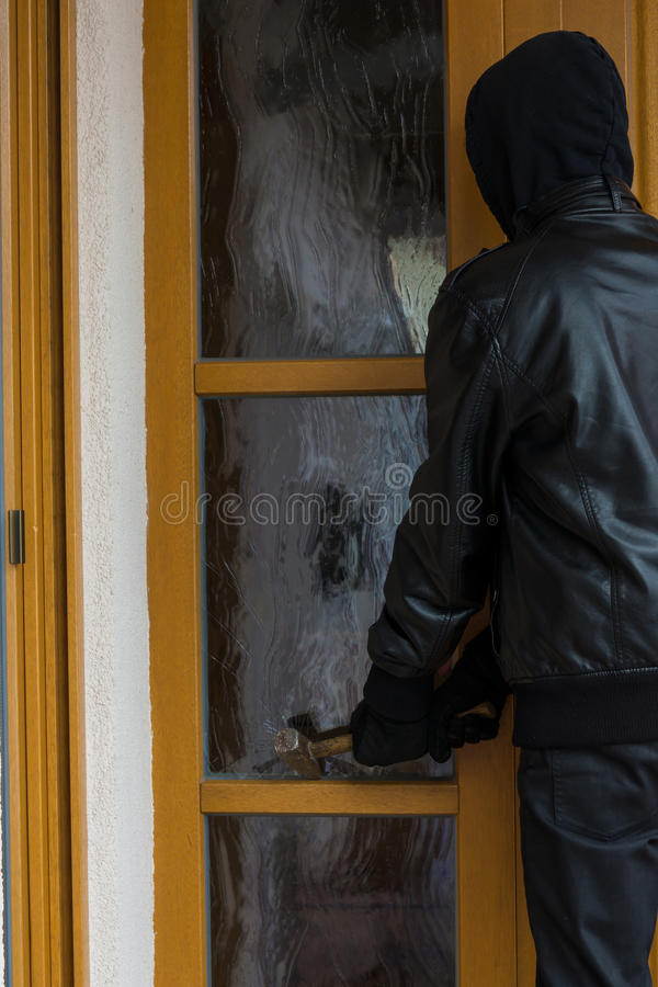 burglary fotografia de stock