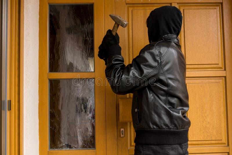 burglary fotografia de stock royalty free