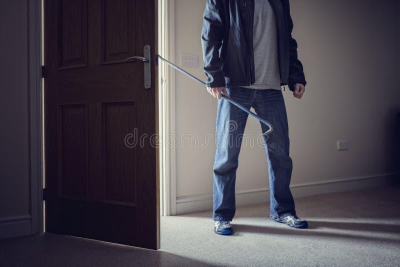 burglary stock foto