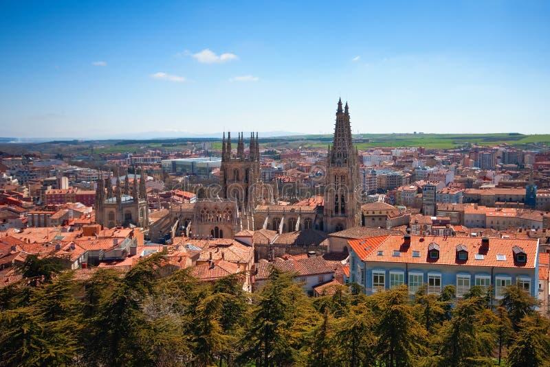 Burgos royaltyfria bilder