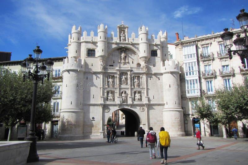 A Burgos immagini stock libere da diritti