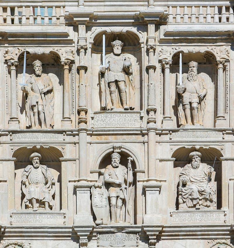 Burgos - Arco De Santa Maria images libres de droits